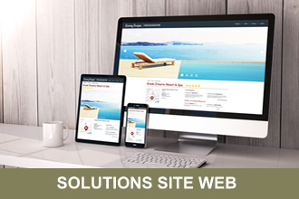 SOLUTION SITE WEB